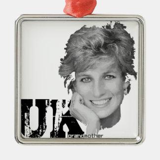 Royal baby - Diana Princess Metal Ornament