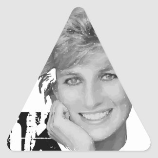 Royal baby - Diana Princess Triangle Sticker