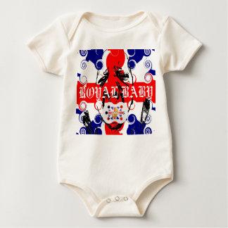 ROYAL BABY LOLLIPOP BABY BODYSUIT