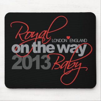 Royal Baby On the Way 2013 Mouse Pad