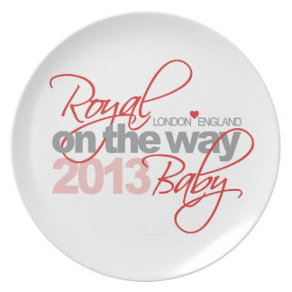 Royal Baby On the Way 2013 Plate