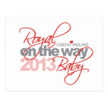 Royal Baby On the Way 2013 Post Card