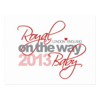 Royal Baby On the Way 2013 Postcard