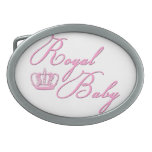 Royal Baby Pink With Crown Belt Buckle