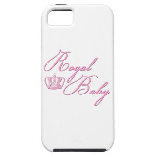 Royal Baby Pink With Crown iPhone 5 Cases