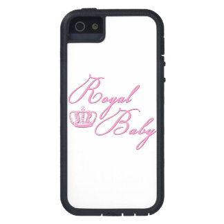 Royal Baby Pink With Crown iPhone 5 Cover