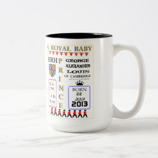 Royal Baby Prince Commemoration Mug