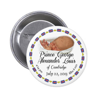Royal Baby - Prince George Alexander Louis 2 Inch Round Button