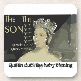 Royal baby: Prince William and Catherine Coaster