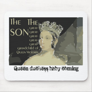 Royal baby: Prince William and Catherine Mouse Pad