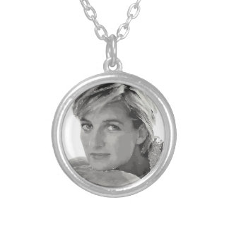 Royal baby. Prince William and Catherine. Round Pendant Necklace