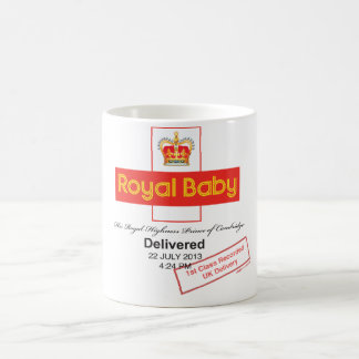 Royal Baby Recorded Delivery Coffee Mug