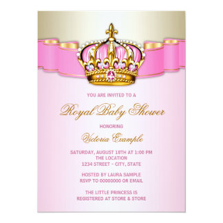 Royal Baby Shower Card