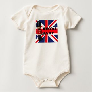 Royal Baby Soldier Baby Bodysuit
