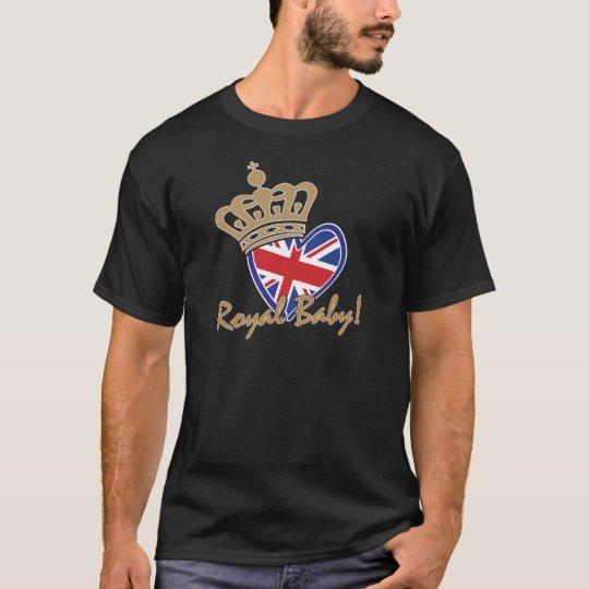 Royal Baby UK Heart Flag T-Shirt