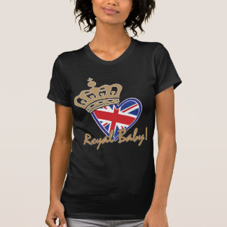 Royal Baby UK Heart Flag T-Shirt