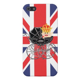 Royal Baby with Crown and Union Jack Cover For iPhone SE/5/5s