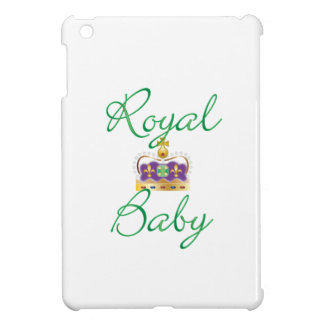 Royal Baby with Purple and Gold Crown iPad Mini Cover