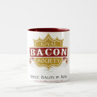 Royal Bacon Society Logo Mug