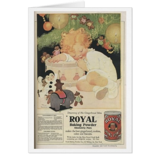 Royal Baking Powder Card