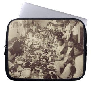 Royal Banquet at King Kalakana's Boat House, c.187 Laptop Sleeve