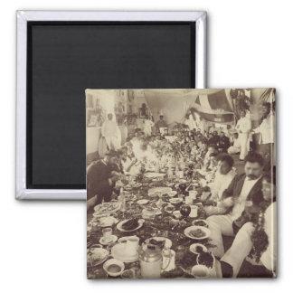 Royal Banquet at King Kalakana's Boat House, c.187 Magnet