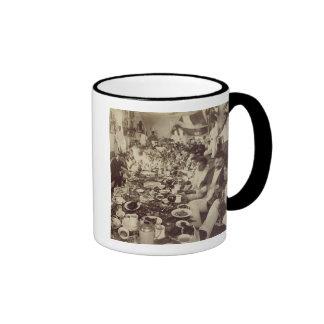 Royal Banquet at King Kalakana's Boat House, c.187 Ringer Mug
