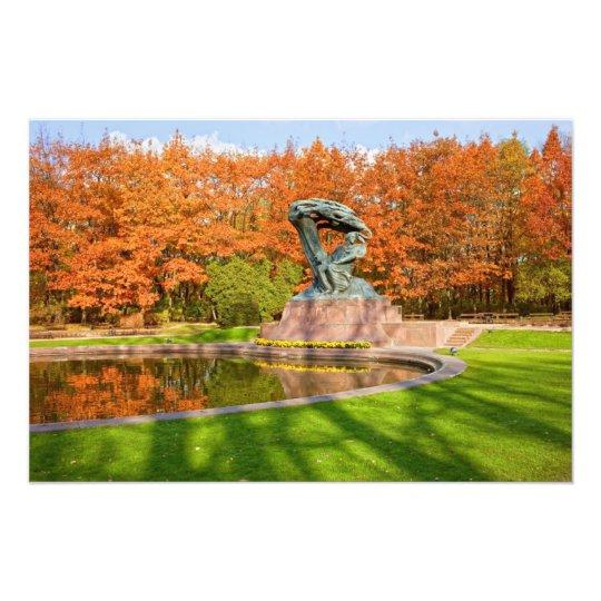 Royal Baths Park in Warsaw Photo Print