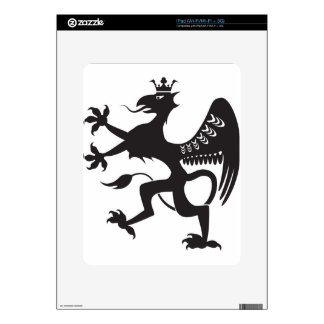 Royal Beast winged catbird Decals For The iPad