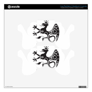 Royal Beast winged catbird PS3 Controller Decals