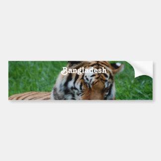 Royal Bengal Tiger Bumper Stickers