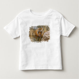 Royal Bengal Tiger drinking in the forest Toddler T-shirt