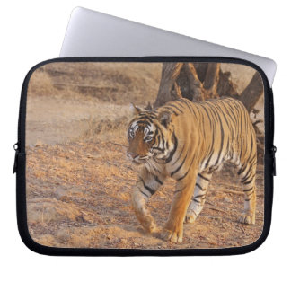 Royal Bengal Tiger on the move, Ranthambhor Laptop Sleeve