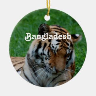 Royal Bengal Tiger Christmas Ornament