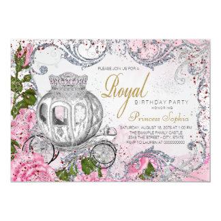Royal Birthday Party Princess Card