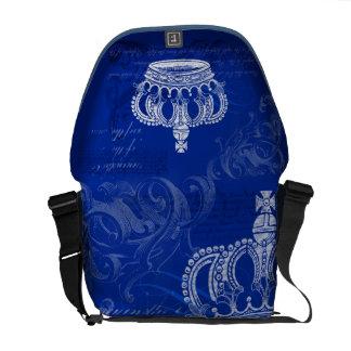 Royal Bloodline - Blue Courier Bag