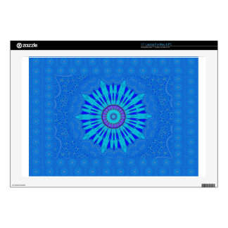 """Royal blue 17"""" laptop skins"""