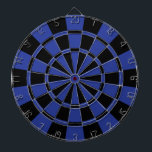 "Royal Blue And Black Dart Board<br><div class=""desc"">Royal Blue And Black Dart Board</div>"