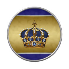 Royal Blue and Gold Prince Baby Shower Jelly Belly Candy Tins at Zazzle