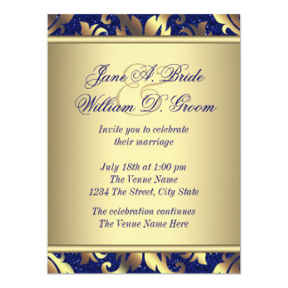 Royal Blue Wedding Invites as great invitation layout