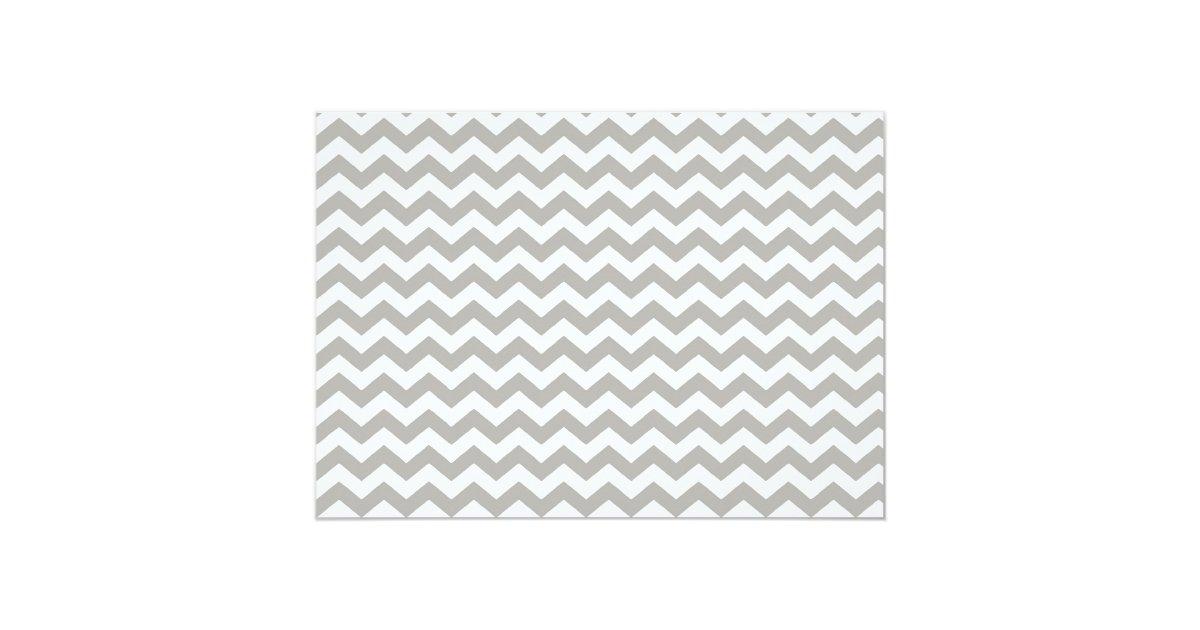 royal blue and grey chevron invitaiton card zazzle. Black Bedroom Furniture Sets. Home Design Ideas