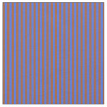 [ Thumbnail: Royal Blue and Sienna Colored Lines Fabric ]