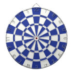 Royal Blue And White Dartboards