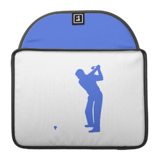 Royal Blue and White Golf MacBook Pro Sleeve