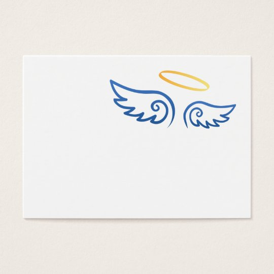 3b536a916 Royal Blue Angel wings with Halo | Zazzle.com