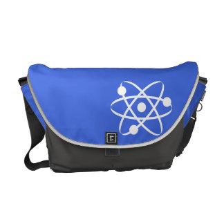 Royal Blue Atom Courier Bag