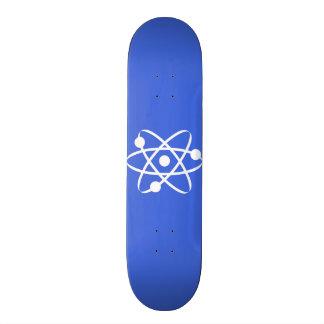 Royal Blue Atom Custom Skate Board