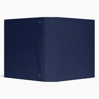 Royal Blue Automotive Carbon Fiber Weave Style Binder