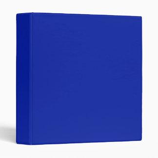 Royal Blue Binder