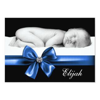 Royal Blue Birth Announcements